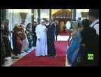شاهداستقبال البابا فرانسيس في بغداد بالموسيقى والرقص