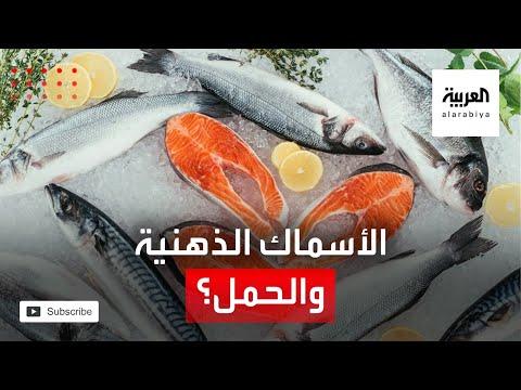 شاهد الأسماك الدهنية من الأطعمة التي على الحامل تجنبها