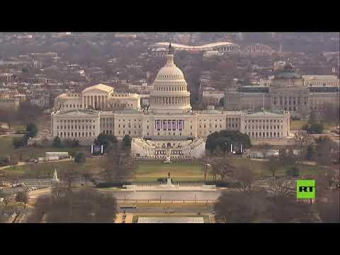 شاهدإغلاق الكونغرس وتعليق بروفة تنصيب بايدن إثر تهديد أمني