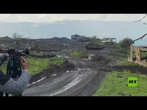 شاهدتدريبات عسكرية إسرائيلية في الجولان تحاكي حربًا مع حزب الله